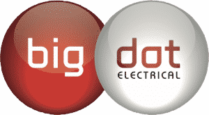 big dot electrical transparent logo